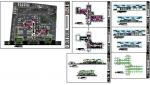 پروژه اتوکد طراحی ترمینال مسافربری بین شهری